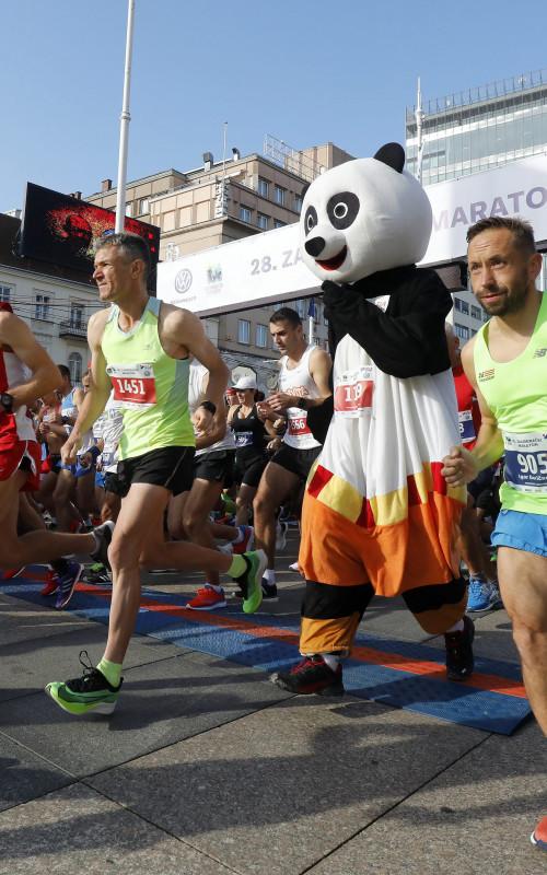 Zagreb-Marathon - Marathon im StadtZentrum